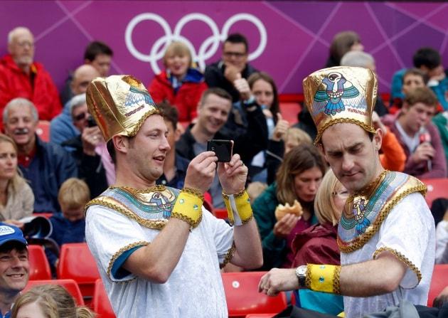 Facce olimpiche