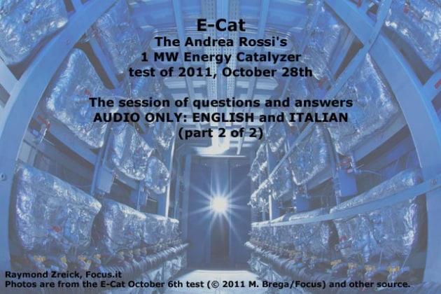 E-Cat da 1 MW: un test