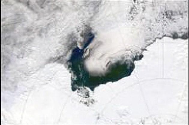 La glaciazione si fa sentire al Polo sud