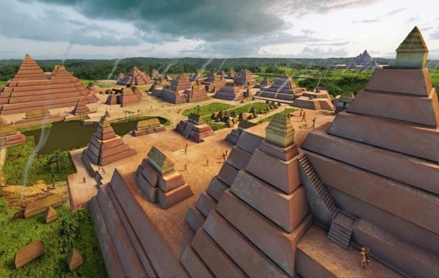 La città segreta dei Maya