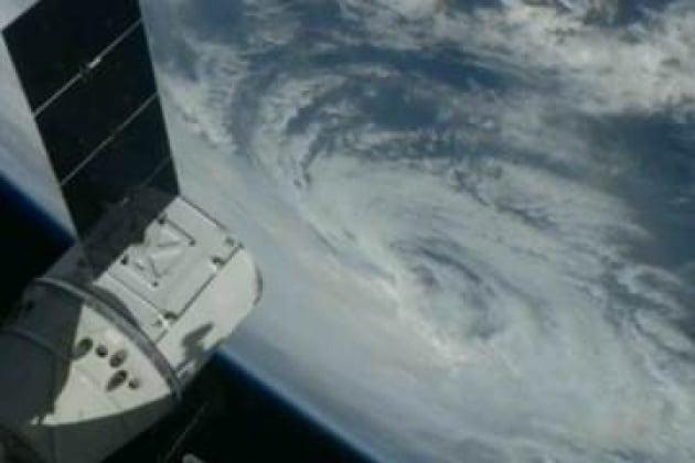 L'uragano Sandy si avvicina