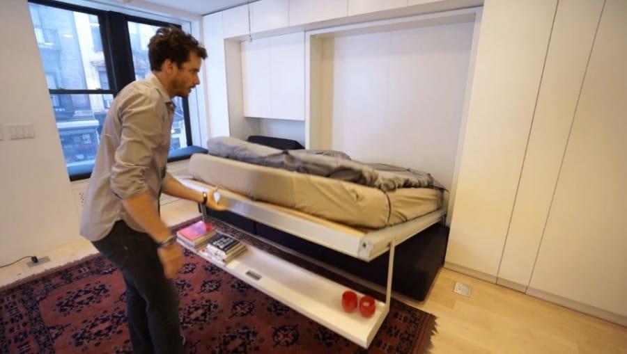 L 39 appartamento da 8 stanze in 37 mq for Studio in camera da letto