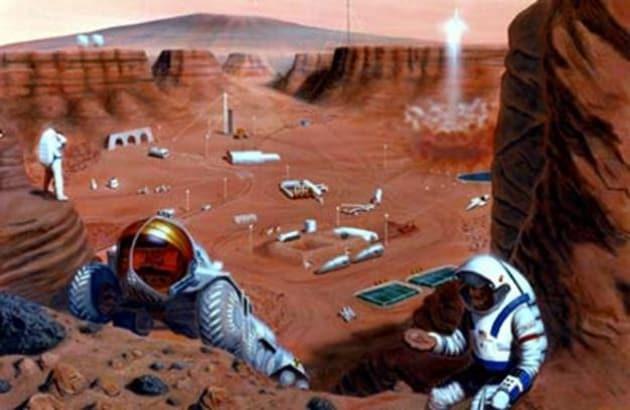 L'uomo può vivere su Marte!