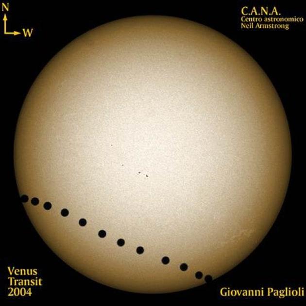 Venere transita davanti al Sole, evento rarissimo