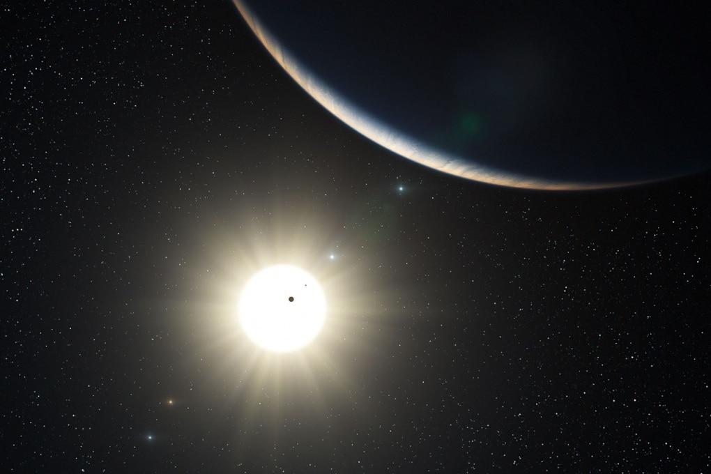 La nuova stella e i sette pianeti (di cui uno nano)