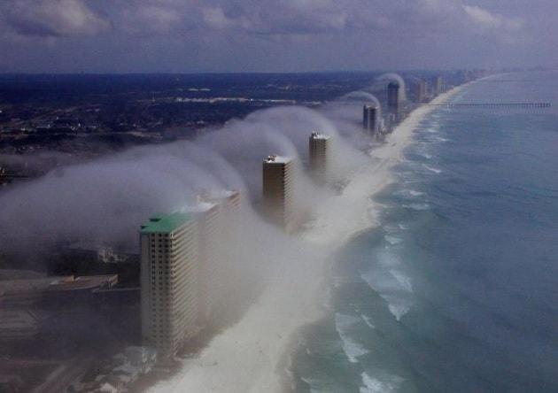 Tsunami di nuvole: un'