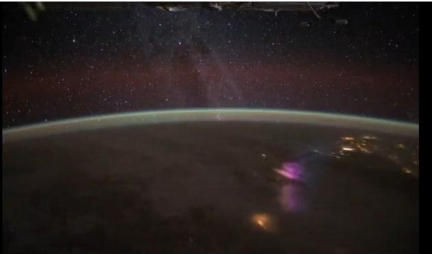 Temporali dallo spazio