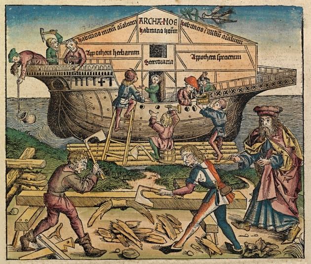Esiste l'arca di Noè? Perché fu costruita?