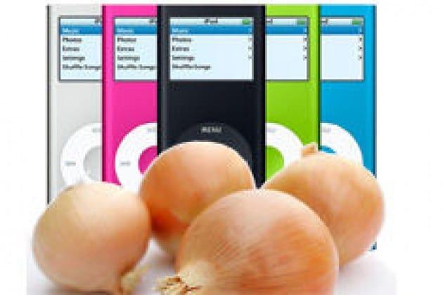 Basta una cipolla per caricare l'iPod?