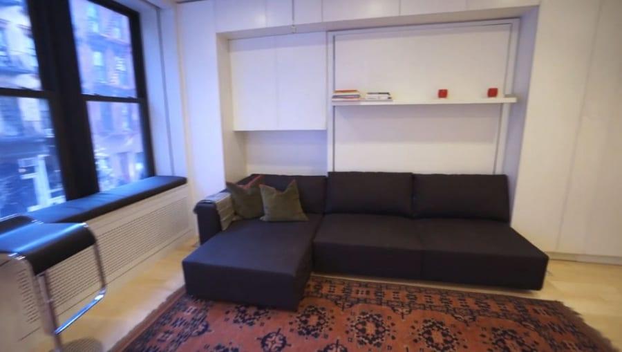 L'appartamento da 8 stanze in 37 mq soggiorno, sala da pranzo ...