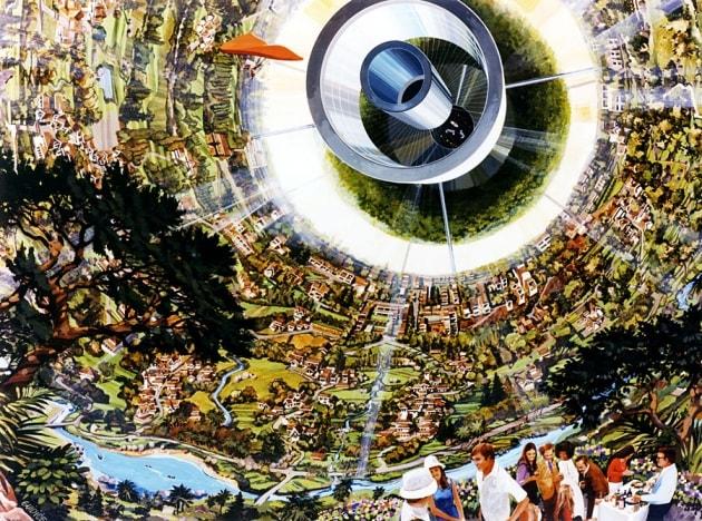 Che cosa mangeremmo in una colonia spaziale permanente?