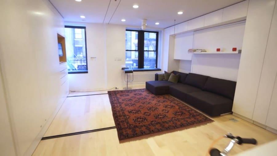 L 39 appartamento da 8 stanze in 37 mq for Camera da letto e studio