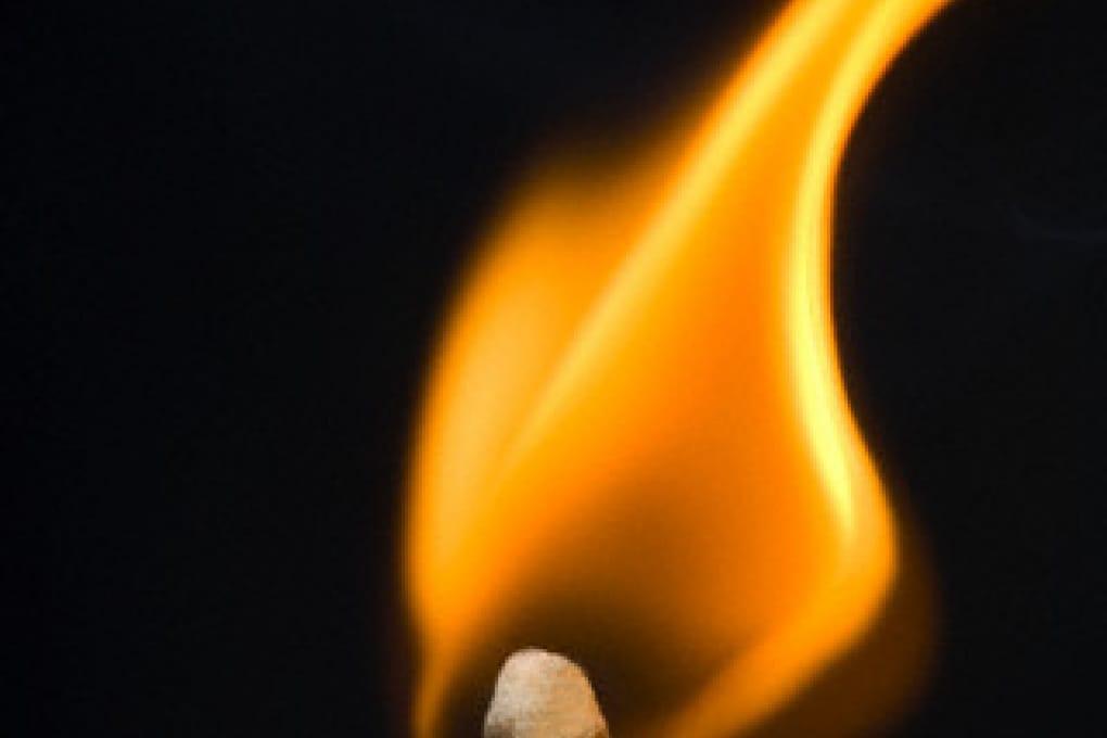 Com'è fatta una fiamma?
