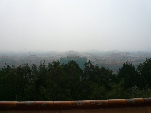 Pessima aria su Pechino