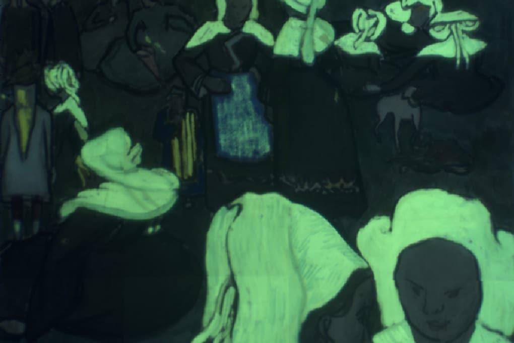 Van Gogh usava colori fluorescenti