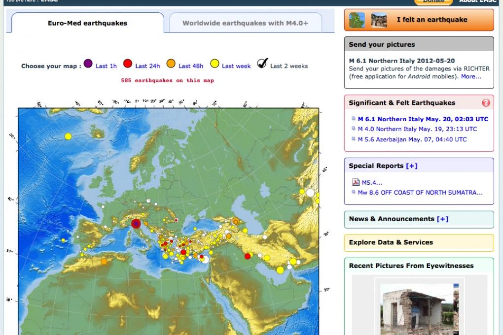 Terremoto in Emilia e profezie Maya: la connessione che non c'è