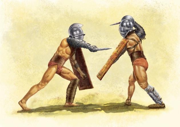 La poco eroica fine dei gladiatori