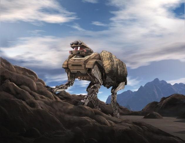 Il cane robot cammina ancora