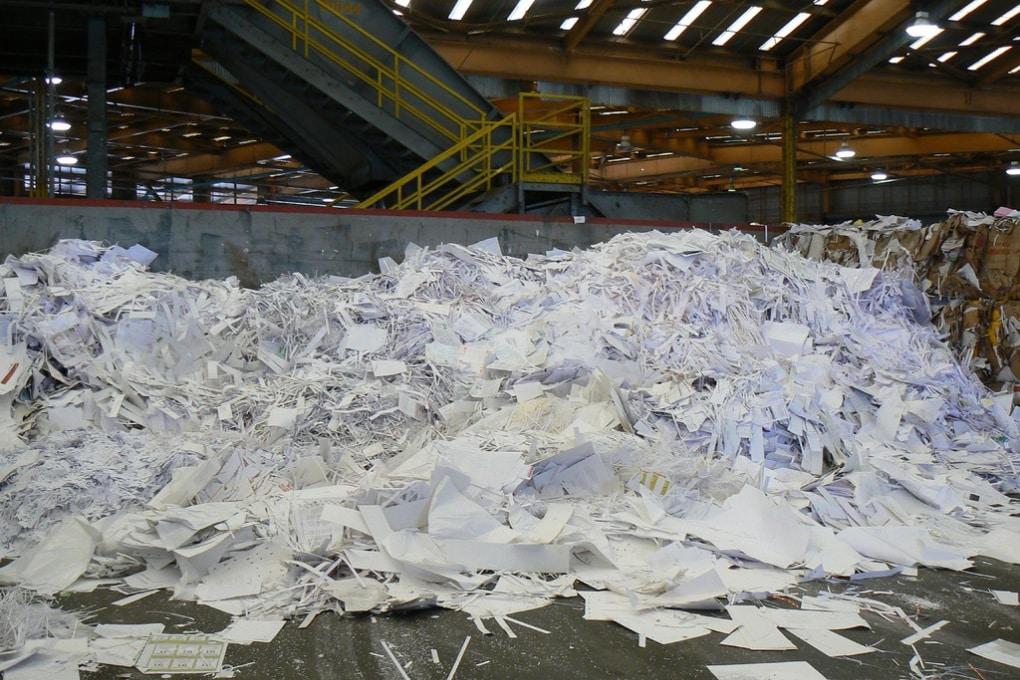 Come avviene il riciclo della carta da macero?