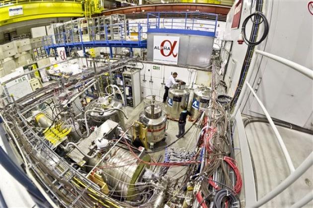 Intrappolata per la prima volta l'antimateria