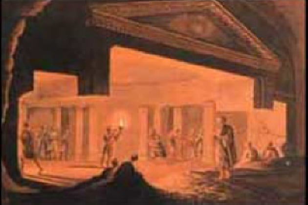 come facevano gli egizi a illuminare l interno delle