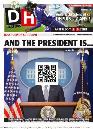 Obama rieletto presidente, la notizia sui siti stranieri