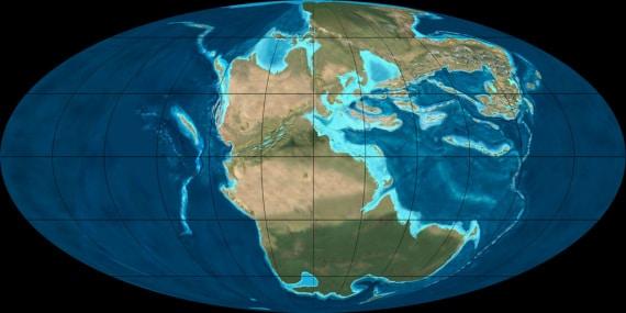 dinosauri, ere geologiche, mappa interattiva, tettonica delle placche, storia della Terra, curiosità