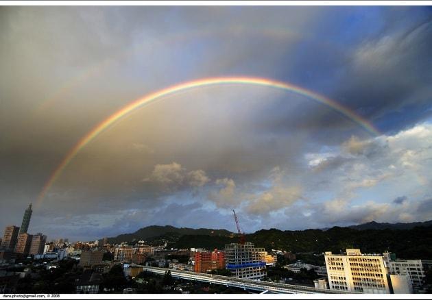 Come nasce la forma dell'arcobaleno?