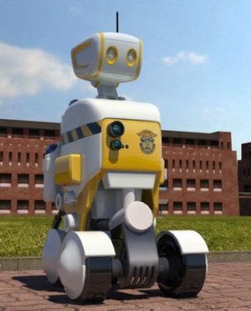 Poliziotto robot pronto a entrare in servizio