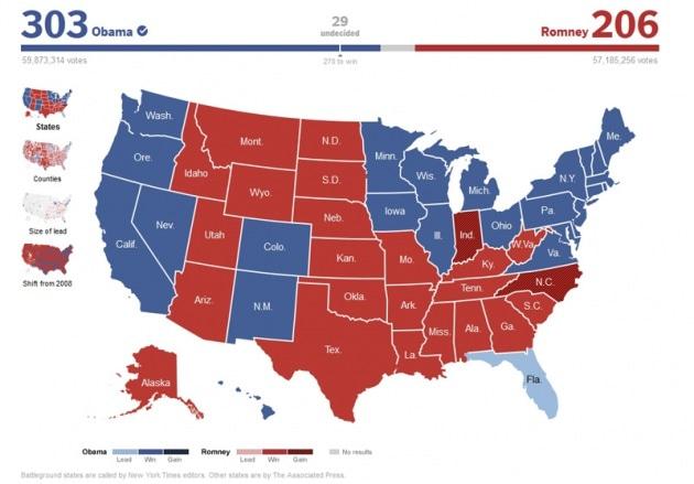 La matematica del voto americano
