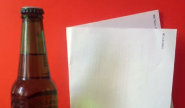 Come trasformare un foglio A4 in un apribottiglie