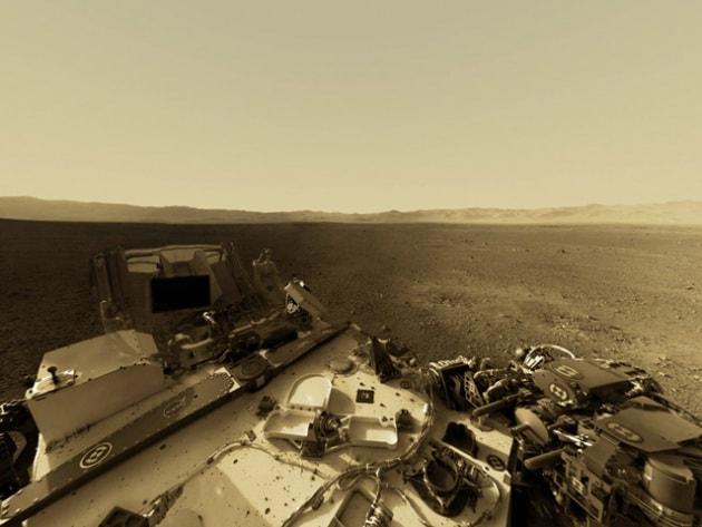 Curiosity invia il primo video della superficie di Marte