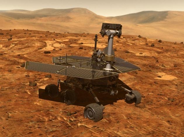 Il suolo di Marte secondo Spirit