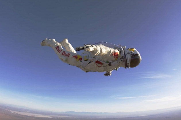 40.000 metri in caduta libera: anche questa è scienza