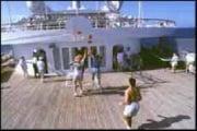 Come si muove la palla quando si gioca su una nave?