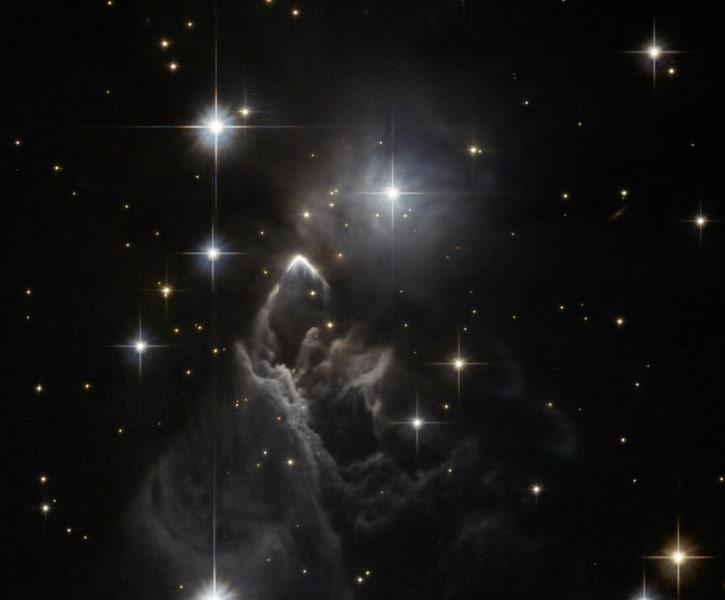 Risultati immagini per Halloween una nube cosmica nella via lattea a forma di zucca ?