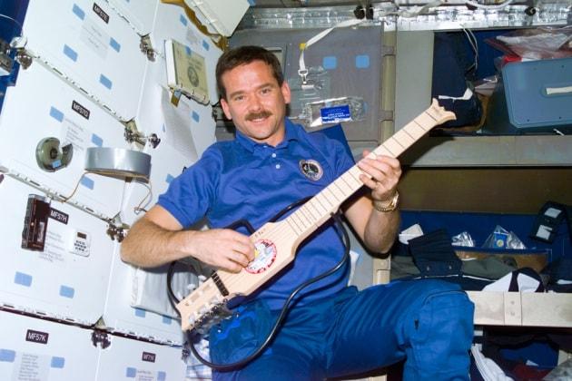 Che rumore sulla Stazione Spaziale Internazionale!