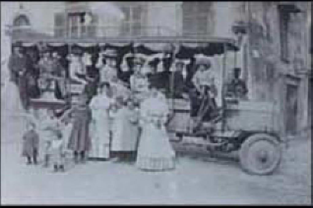 Quando e dove furono inventati gli autobus?