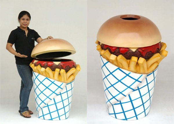 hamburger-trashcan