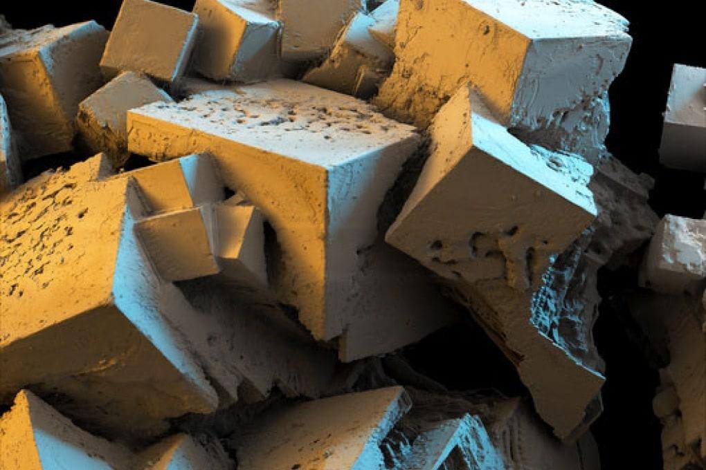Un cubo di sale