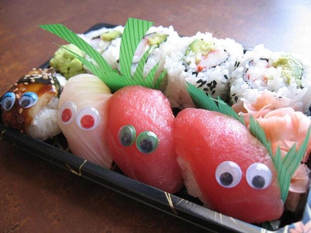La genetica del sushi