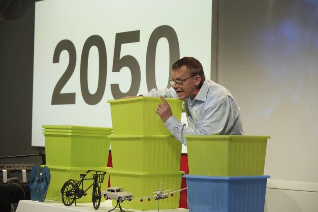 La crescita della popolazione globale spiegata con le scatole Ikea