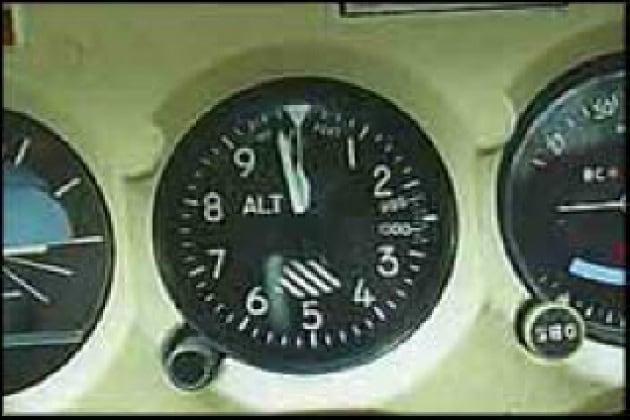 Come funziona l'altimetro degli aerei?
