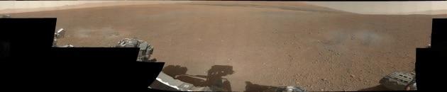 Il panorama marziano ripreso da Curiosity