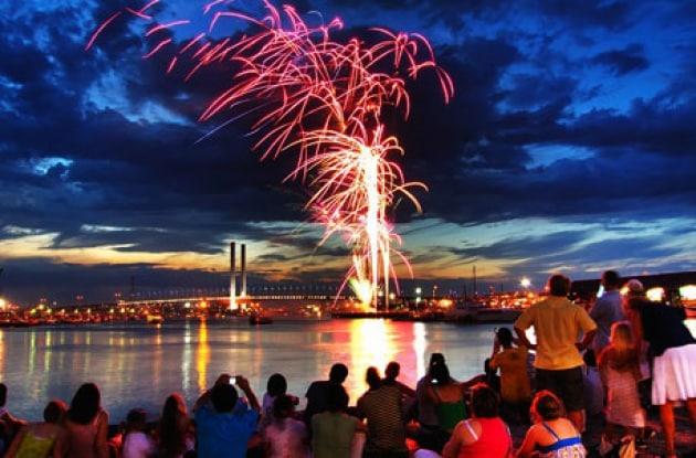 I fuochi d'artificio di capodanno... al rovescio
