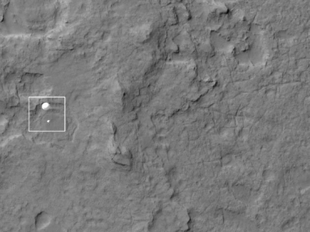 Dov'è atterrata Curiosity: le foto dell'atterraggio