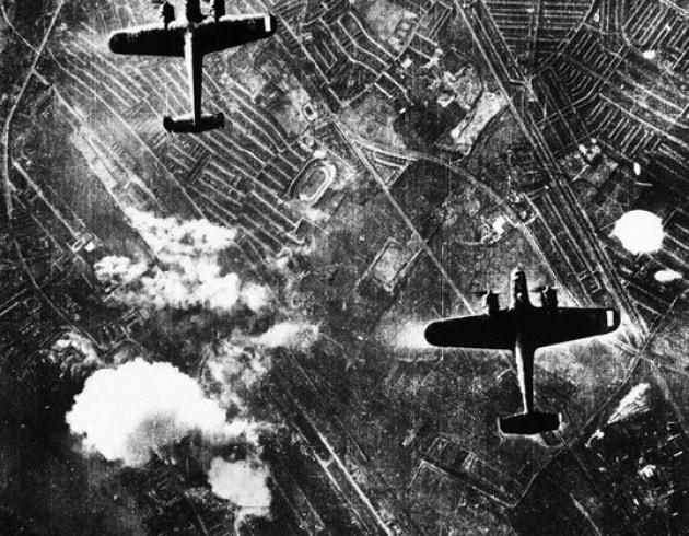 Londra sotto le bombe dei Nazisti