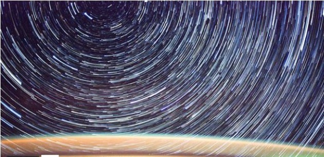 Il moto delle stelle visto dalla ISS