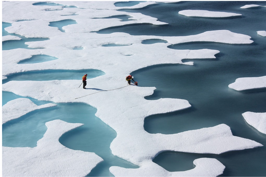Polo Nord: il ghiaccio è al minimo