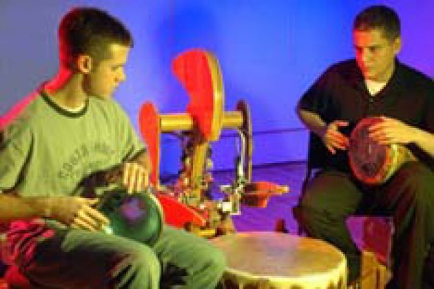 Il bonghista robot